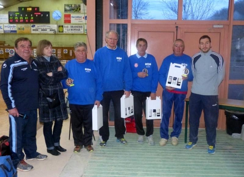 Equipe TEILLAC (Gourdon) Vainqueur du challenge