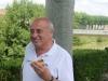 Gérard Laubie apprécie le dessert