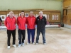 Les second du concours l'équipe de Cédric BES de Gramat