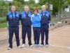 Bruyneel ,Gérard Fraunié, Babay Legall, Alain Legall (Valence D'Agen (82)