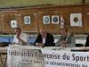 Thierry André (Président du CBD Lot),Mr Mellinger Maire de Figeac), Serge Oulié (secrétaire du CBD)