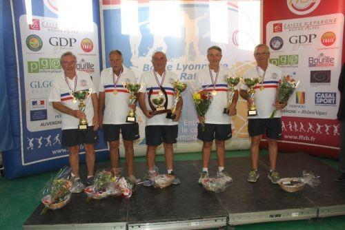 Les figeacois champions de France Vétérans 2015-2016