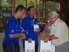 Remise des trophées par Roland Gareyte (Adj. au Maire)