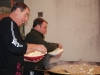 Le chef cuistot Jean Claude Rochy et son adjoint Bruno Marmol