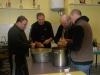 Préparation du repas : épluchure des patates !