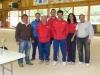 L\'équipe Farguette R./Raïs L./Bès D./Michaudel C.entourés des Co-Présidents Rochy et André et d\'A. Jean