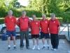 L'équipe Teillac de Gourdon ( Teillac, Martinache,Oulié, Derruau,Delpech)