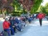 Un public assez nombreux pour la finale vétérans